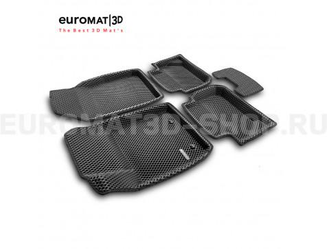 3D коврики Euromat3D EVA в салон для Ford Ecosport (2014-) № EM3DEVA-002215
